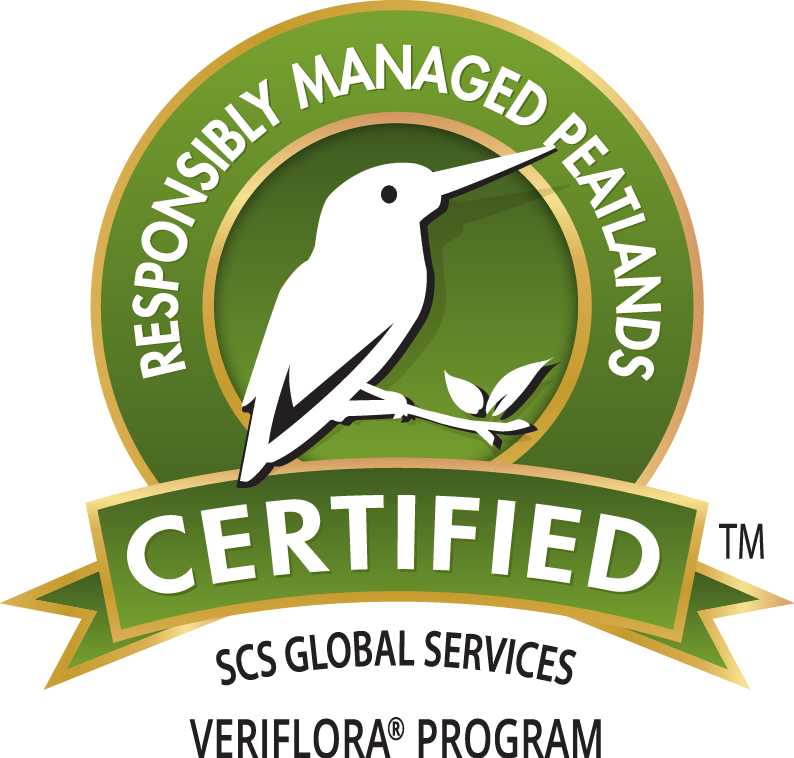 THIS PRODUCT IS CERTIFIED BY VERIFLORA®