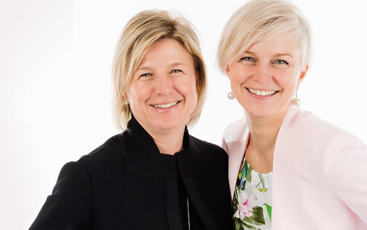 Valérie et Mélissa Berger