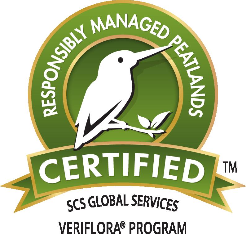 Este producto cuenta con la certificación Veriflora®