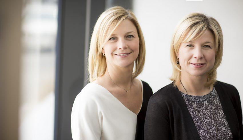 Mélissa et Valérie Berger