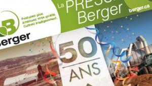 La Presse Berger 2e édition