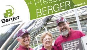 La Presse Berger 4e édition