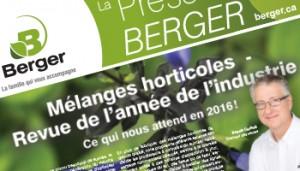 La Presse Berger 6e édition