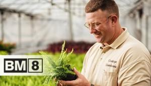 Le BM8 a permis à Corstange Greenhouses de produire des jardinières de qualité tout au long de la saison