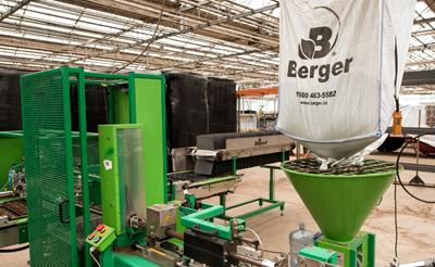 Un service d'équipement de pointe chez Berger