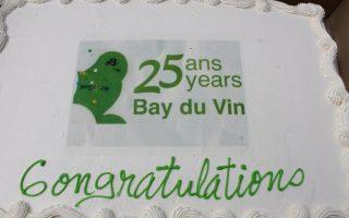 25e anniversaire de Bay du vin