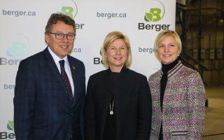 Ministre Jean D'Amour, Valérie et Mélissa Berger