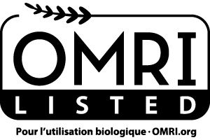 Produit listé par l'OMRI